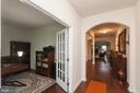 Large Entry With Arched Doorway - 5719 PINEY GLADE RD, FREDERICKSBURG