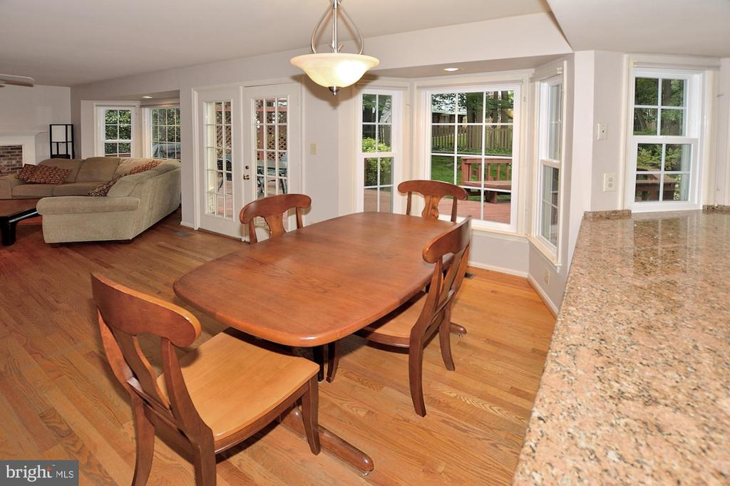 DINING AREA - 13466 POINT PLEASANT DR, CHANTILLY