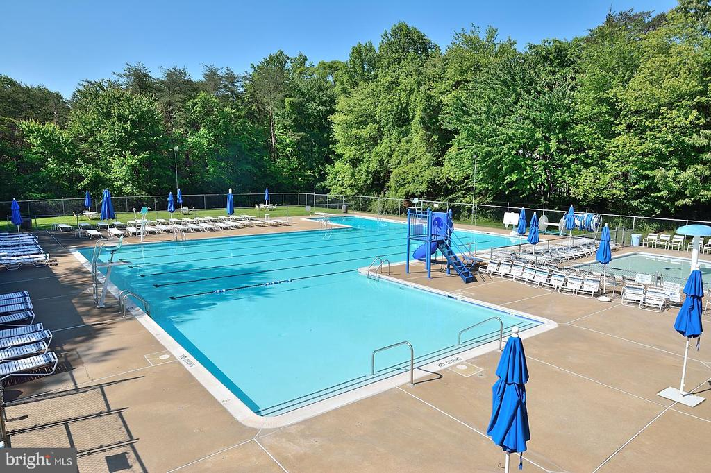 COMMUNITY POOL - 13466 POINT PLEASANT DR, CHANTILLY