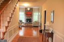 Stairs to upper level and hallway - 11911 CRAYTON CT, HERNDON