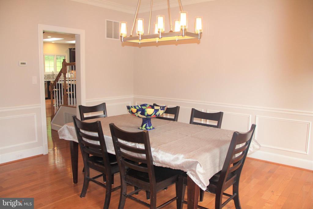 Dining Room off kitchen - 11911 CRAYTON CT, HERNDON