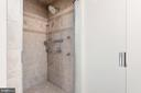 Master luxury shower - 2843 GARRISONVILLE RD, STAFFORD