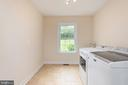 Incredible laundry room with utility sink - 2843 GARRISONVILLE RD, STAFFORD