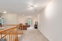 Spacious loft area on the upper level - 2843 GARRISONVILLE RD, STAFFORD