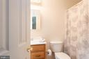 Full bath for bedroom 2 - 2843 GARRISONVILLE RD, STAFFORD