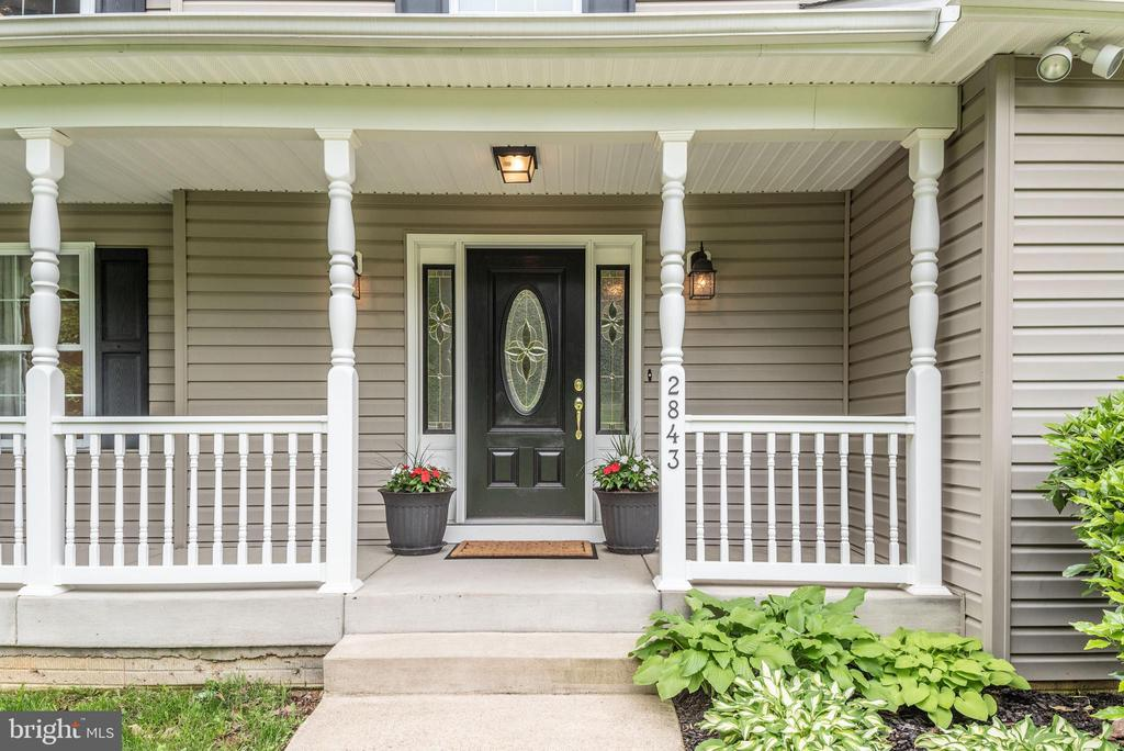 Front full porch - 2843 GARRISONVILLE RD, STAFFORD
