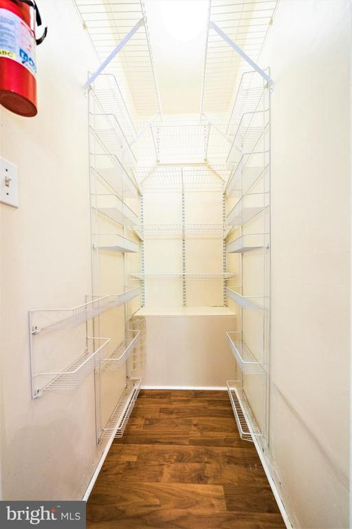 Additional Shelving in Pantry - 4024 MEADOWVIEW DR, SUITLAND