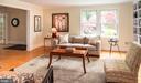 Living Room - 6203 FOXCROFT RD, ALEXANDRIA