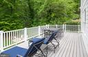 Large Wrap Around Deck off of Family Room - 6203 FOXCROFT RD, ALEXANDRIA