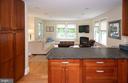 Family Room/Kitchen - 6203 FOXCROFT RD, ALEXANDRIA