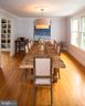 Separate Dining Room - 6203 FOXCROFT RD, ALEXANDRIA