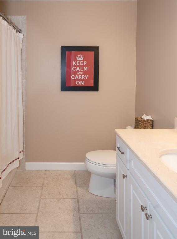 Bedroom Level Hall Full Bath #2 - 6203 FOXCROFT RD, ALEXANDRIA