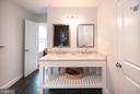 Bedroom Level Full Bath #3 - 6203 FOXCROFT RD, ALEXANDRIA
