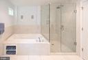 Master Bathroom w Whirlpool Tub - 6203 FOXCROFT RD, ALEXANDRIA