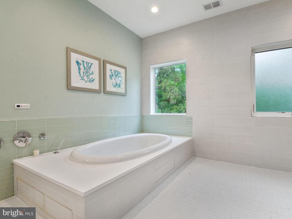 Master Bath tub is reheatable. - 3927 OLIVER ST, CHEVY CHASE