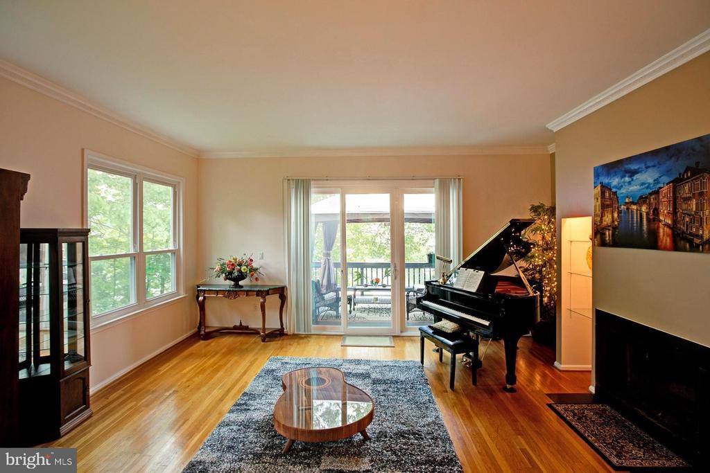 Living room - 2082 LAKE AUDUBON CT, RESTON