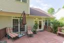 Entertain while enjoying this well designed deck - 32 MONUMENT DR, STAFFORD