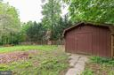 Large Shed And Great Area For Gardening! - 135 JOSHUA RD, STAFFORD