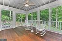 Screened Porch - 10627 TIMBERIDGE RD, FAIRFAX STATION