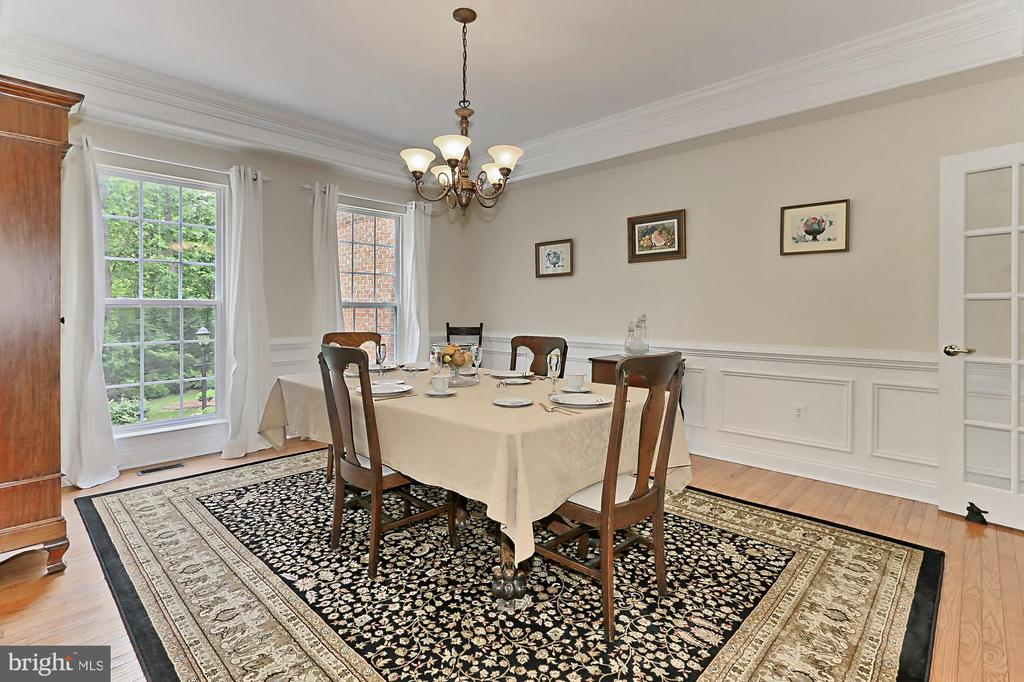 Dining Room - 10627 TIMBERIDGE RD, FAIRFAX STATION
