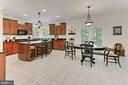 Gourmet Kitchen and Breakfast Room - 10627 TIMBERIDGE RD, FAIRFAX STATION