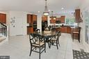 Gourmet Kitchen/Breakfast Room - 10627 TIMBERIDGE RD, FAIRFAX STATION