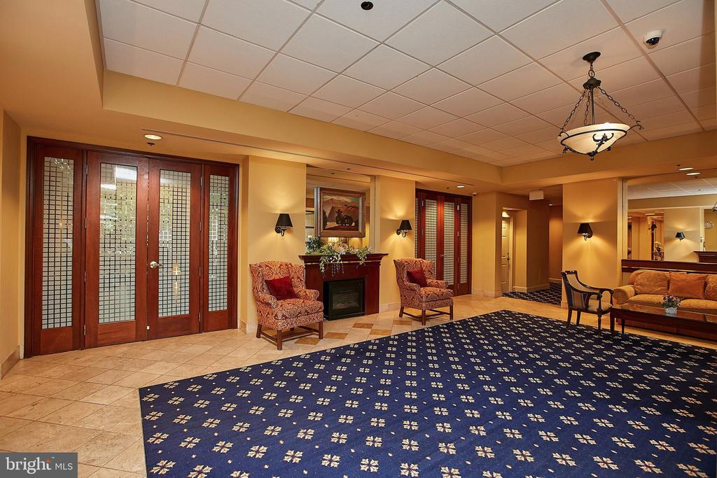 The Charleston Lobby w/ Receptionist - 2400 CLARENDON BLVD #203, ARLINGTON