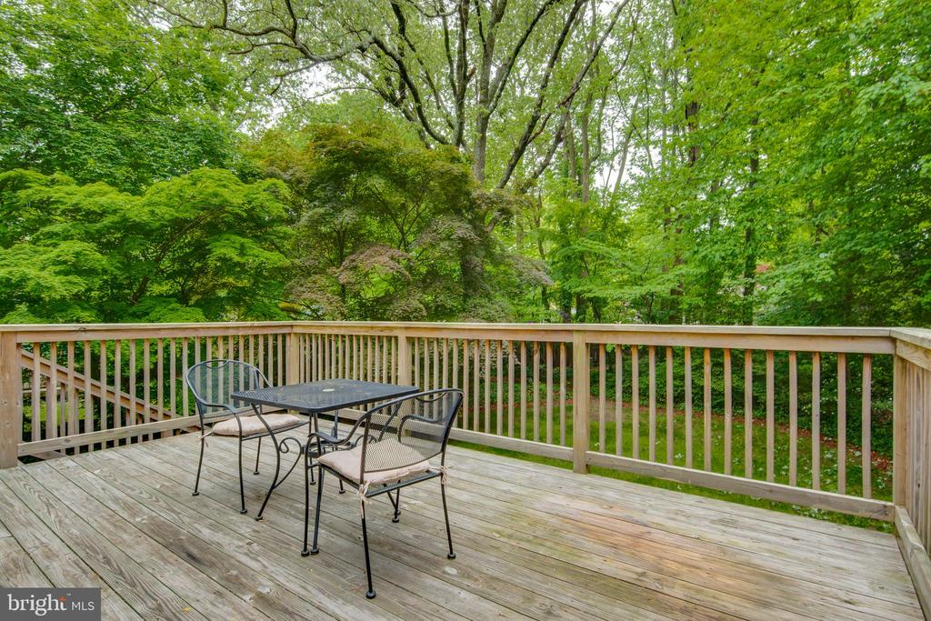 Large deck perfect for relaxing or entertaining - 1087 LITTLE MAGOTHY VW, ANNAPOLIS