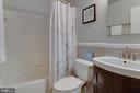 Renovated full-bath - 1087 LITTLE MAGOTHY VW, ANNAPOLIS