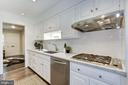 Plus, stainless steel d/w and 4-burner gas cooktop - 5508 DEVON RD, BETHESDA