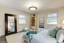 Bedroom 4 - offers custom closet - 5508 DEVON RD, BETHESDA