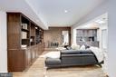 Enjoy lower level wood fireplace - 5508 DEVON RD, BETHESDA