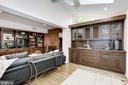 Built in wet-bar opens to pool area - 5508 DEVON RD, BETHESDA