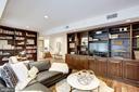 Enjoy library sitting area - 5508 DEVON RD, BETHESDA
