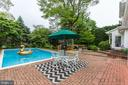 Tree-lined yard for privacy - 5508 DEVON RD, BETHESDA
