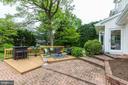 Tiered patio great for entertaining - 5508 DEVON RD, BETHESDA