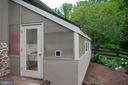 green house off garage - 37354 JOHN MOSBY HWY, MIDDLEBURG