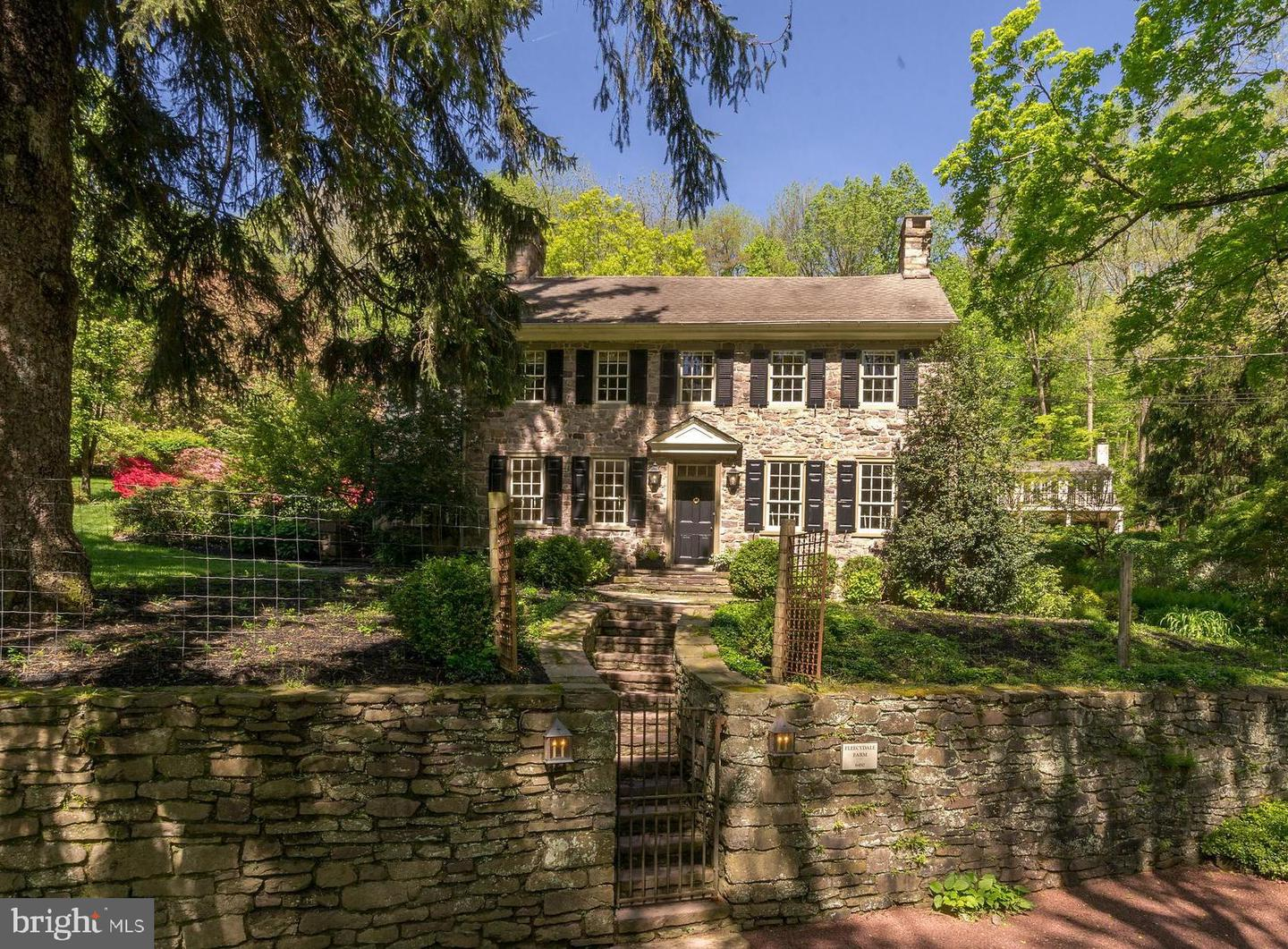 Single Family Home for Sale at New Hope, Pennsylvania 18938 United States