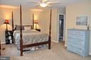MASTER BEDROOM W/ WALK IN AND FULL BATH - 9770 MAIN ST, FAIRFAX