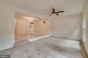 Living/Dining Room - 12090 WINONA DR, WOODBRIDGE