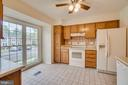 Natural Light Fills the Kitchen - 12090 WINONA DR, WOODBRIDGE