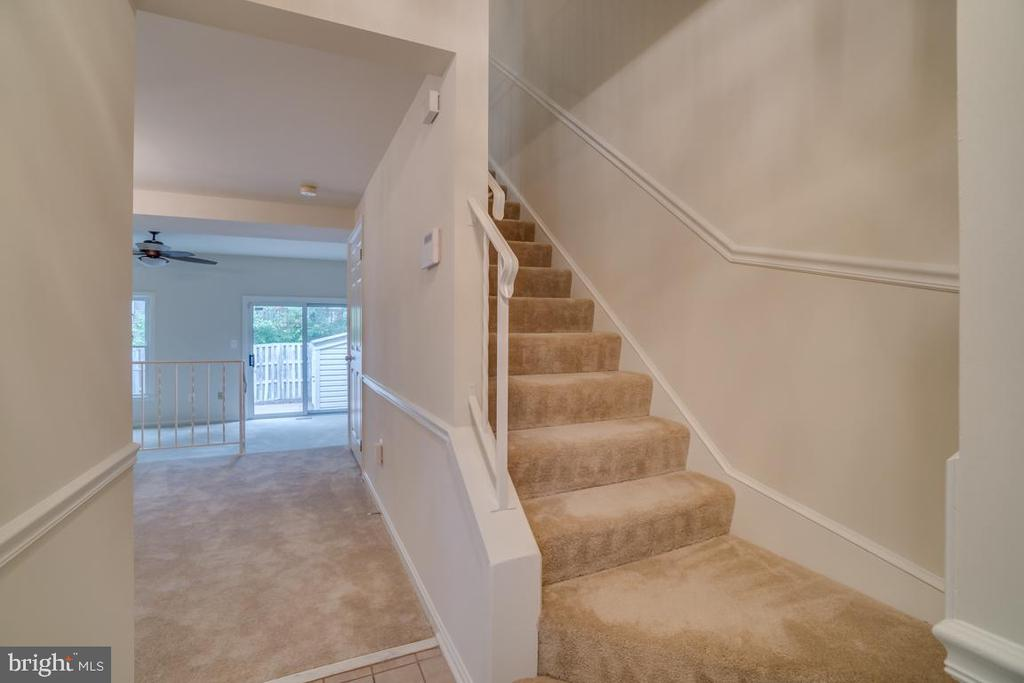 View from Foyer - 12090 WINONA DR, WOODBRIDGE