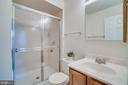 Attached Full Master Bathroom with Tile Floor - 12090 WINONA DR, WOODBRIDGE