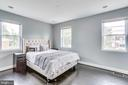 Owner's suite w/wood floors and recessed lighting - 4704 BROOKS ST NE, WASHINGTON