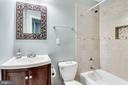 Renovated hall bath - 4704 BROOKS ST NE, WASHINGTON