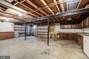 Lower Level 2 -unfinished basement - 8623 APPLETON CT, ANNANDALE