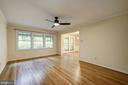 Living Room/Dining Room - 8623 APPLETON CT, ANNANDALE