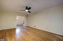 Living Room/Entry Foyer - 8623 APPLETON CT, ANNANDALE