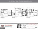 Floor plans - 2815 CREST AVE, CHEVERLY