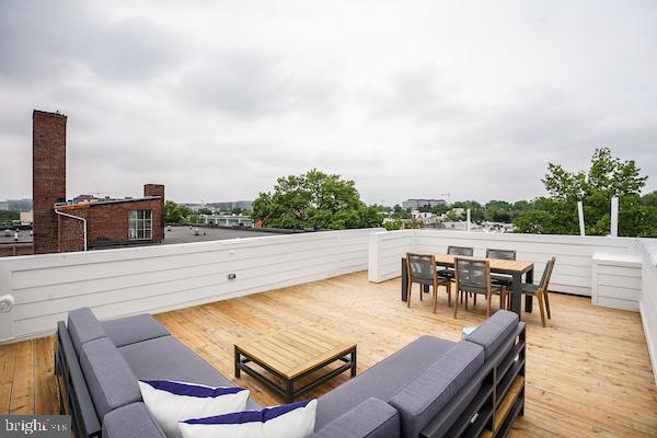 perfect for entertaining or lounging outside - 715 K ST NE #2, WASHINGTON